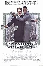 Trading Places Movie Poster (11 x 17 Inches - 28cm x 44cm) (1983) Style A -(Eddie Murphy)(Dan Aykroyd)(Jamie Lee Curtis)(Ralph Bellamy)(Don Ameche)(Denholm Elliott)