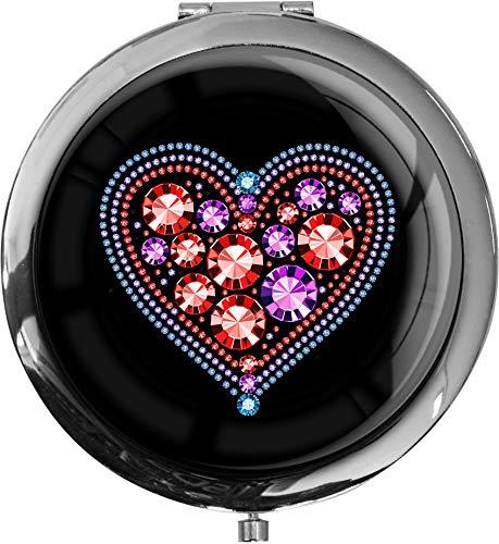 Premium - miroir de poche sous forme ronde\