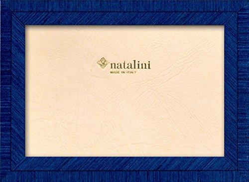 Natalini Marquetry fotolijst, gemaakt in Italië, Tulpenhout, blauw, 4