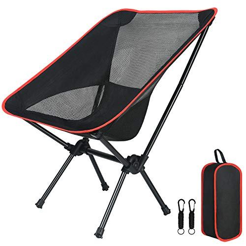 Flintronic Chaise de Camping Pliable avec Sac de...