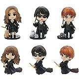 Harry-Potter Cake Topper 6pcs Professor Hermione Mini Figuri