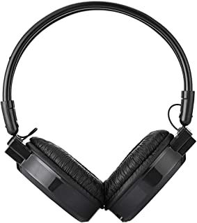 D DOLITY Wireless Headphones Over Ear, USB Stereo Headset for PC Computer Gaming TV Android Phones - Black