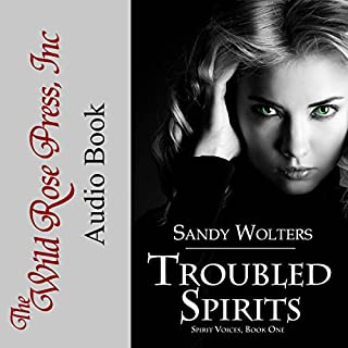 Troubled Spirits audiobook cover art