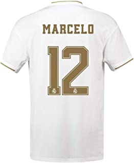 ABQEQ 2019 2020 Madrid Jersey Marcelo 12 Home Men Soccer Shirts