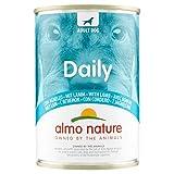 almo nature dailymenu con agnello umido cane premium - confezione da 24 x 400 g