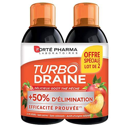 Forté Pharma TurboDraine | Lot de 2 draineurs...