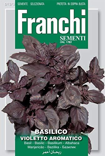 Portal Cool Franchi Graines de l'Italie - Basil - Violet aromatiques - Dark Opal - Graines