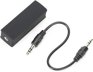 wosume 【 】Filtro de ruído, prático de longa vida útil de 3,5 mm isolador de ruído de desempenho estável, para áudio estére...