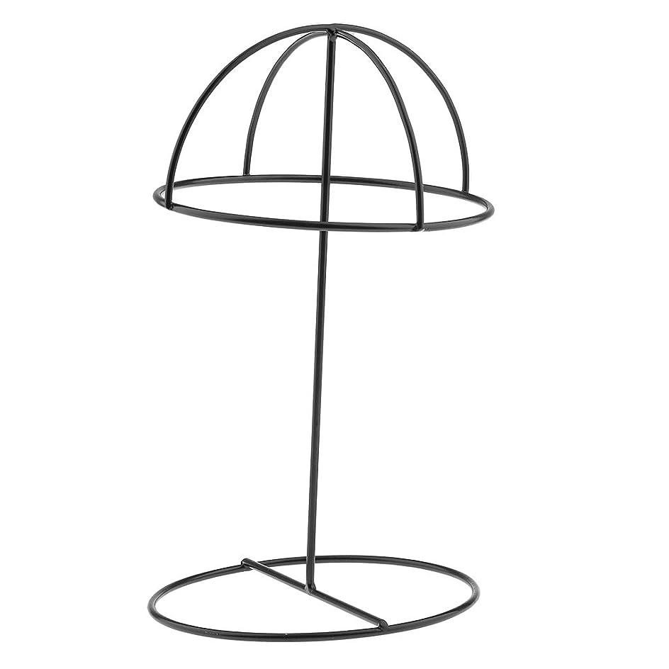 コーヒー遠近法の前でSONONIA 帽子ホルダー ディスプレイ スタンド 収納 安定性 耐久性 店舗適応  全2色 - ブラック