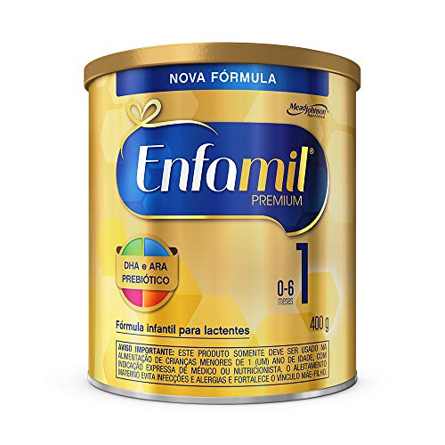 Fórmula Infantil Premium 1, Enfamil, 400 G