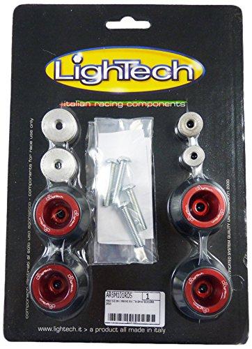 LighTech (ARBM101-ROS) Delrin voor/achterste bijl slider met rode aluminium insert