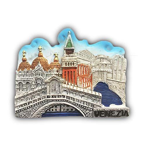 Wedare Italia Venezia 3D Frigorifero Magnete Souvenir turistici Magneti in Resina Adesivi Magneti per frigo Casa e Cucina Decorazione dalla Cina