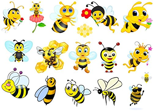 Bee Collection (Bee Temporary Tattoos c1)