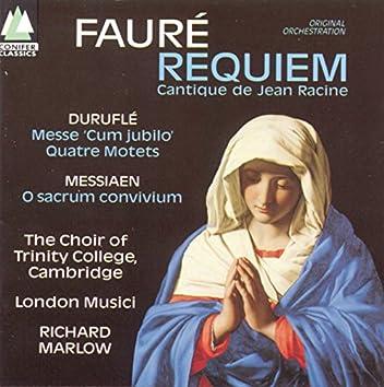 Fauré/Duruflé/Messiaen