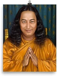 Paramahansa Yogananda Welcome. Premium Luster Photo Paper Poster (in)