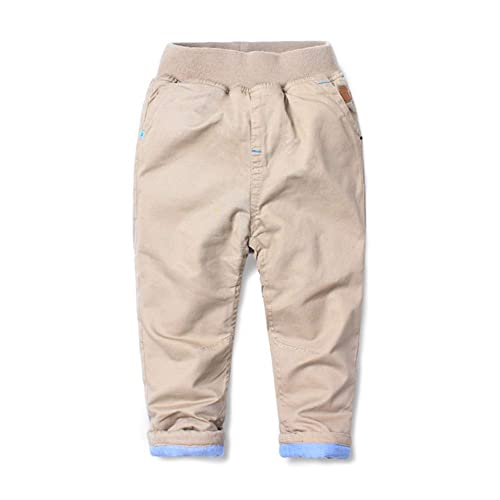 5dde1bf607cfe Mud Kingdom Boys Winter Pants Warm Fleece Lining