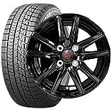 ブリヂストン (タイヤ) ブリザック VRX 155/65R14 (ホイール) ザインSS 14×4.5J PCD100/4H 45 ブラック (軽自動車用) 14インチ スタッドレスタイヤホイールセット 4本