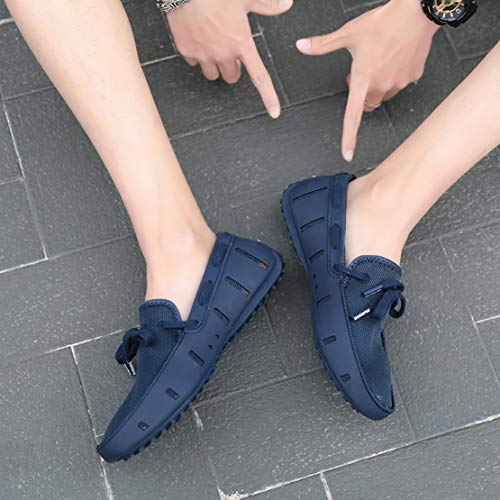 Go Tour Mens Fashion Casual Boat Shoes Breathable Slip on Shoes