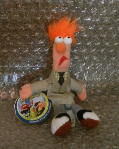 Starbucks Collectible The Muppets Beaker Finger Puppet #16