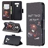 LG K50 / Q60 Hülle, SATURCASE Schönes PU Lederhülle Ledertasche Magnetverschluss Flip Brieftasche Kartenfächer Standfunktion Handy Tasche Schutzhülle Handyhülle Hülle für LG K50 / Q60 (BO-6)