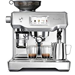 Breville 1 Oracle Touch Dual Boiler Touchscreen Automatic PID Espresso Machine-BES990BSS. Breville vs Delonghi