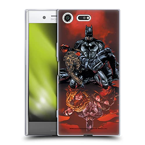 Head Case Designs sous Licence Officielle Batman DC Comics Et Les Hors-la-Loi # 17 Red Hood Coque en Gel Doux Compatible avec Sony Xperia XZ Premium