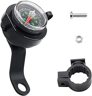 Garneck Carregador USB para guidão de motocicleta, adaptador universal para smartphone com bússola acessórios de motocicle...