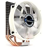 Thermolab New 2018 Trinity White CUP Cooler with Low Noise 130mm White LED Fan