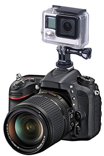 Smatree Aluminium Stativschraube zu DSLR Kamera und Mount Adapter für Gopro Hero Max/Gopro Hero 9/8/7/ 6/5/4/3