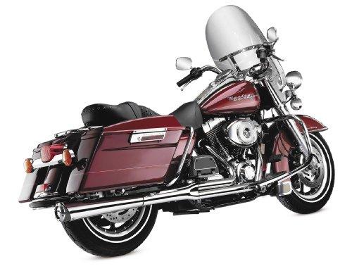 Kerker Supermeg 2-Into-1 Auspuffanlagen Chrom (Harley Davidson Softail 85-11)