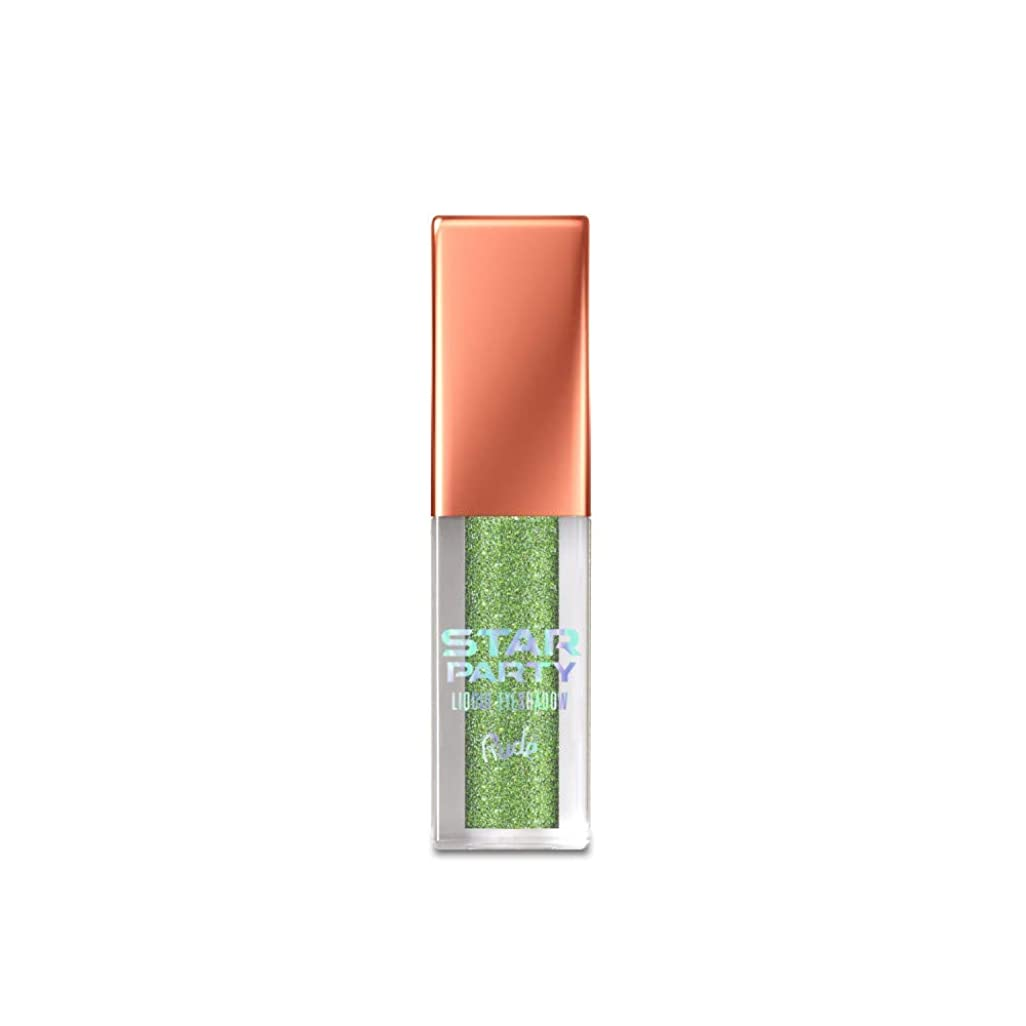 反乱マット才能のある(3 Pack) RUDE Star Party Liquid Eyeshadow - Nebula Gleam (並行輸入品)