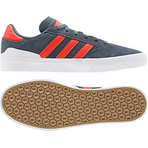 adidas Skateboarding Busenitz Vulc II, Legacy Blue-Solar Red-Footwear White, 6,5