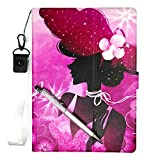 Lovewlb Tablet Funda para Vexia FCS E2 Plus Funda Soporte Cuero Case Cover SN