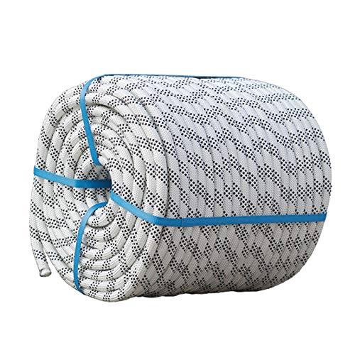 MINGMIN-DZ Campingseil Safety Seil High-Höhenbetrieb Sicherheitsseil Nylon Bergsteigen Seil Flucht Rettungsseil Außerhalb Wandreinigungsseil Nylon-Seil (Size : 16mm)