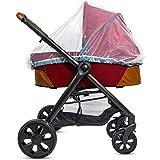 Baby Moskitonetz für Kinderwagen, Tragesitz und Stubenwagen - Elastische Kordel für festen Sitz – Mückennetz Kinder für Jogger, Autositz und Pack N Play - 1000 Mesh Insektenschutz Kinderwagen