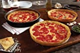 Six Lou Malnati's Deep Dish Pizzas (3 Cheese 3 Pepperoni)