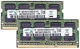 サムスン純正 PC3-8500(DDR3-1066) SO-DIMM 4GB×2枚組 メモリンゴブランドノートPC用メモリ iMac/Mac mini/MacBookPro対応対応
