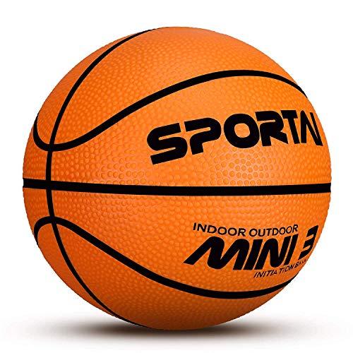 Mini Basketball – Schwimmbecken Basketball – Kinder Indoor Basketball – 12,7 cm Durchmesser – weich und federnd, basketball, Orange