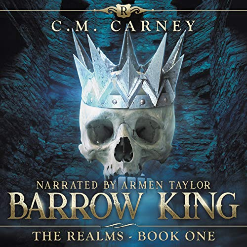 Barrow King audiobook cover art