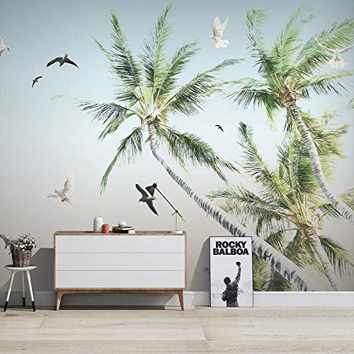 Custom Mural Wall 3D Tree Wall Painting Living Room TV Sofa Bedroom Background Wall Painting 3D - 450x300 Cm/177.2X118.1 Inch
