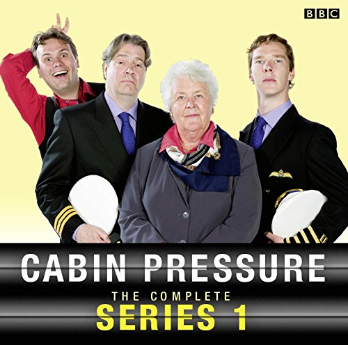 Cabin Pressure                   By:                                                                                                                                 John Finnemore                               Narrated by:                                                                                                                                 Stephanie Cole,                                                                                        Roger Allam,                                                                                        Benedict Cumberbatch                      Length: 2 hrs and 48 mins     1,677 ratings     Overall 4.8
