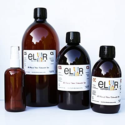 Special Offer: Natural Silver Agent 20ppm (1000ml)+Colloidal Gold (500ml)+Colloidal Copper (250ml)+FREE 100ml Spray Bottle & Free UK Delivery from The Colloidal Company
