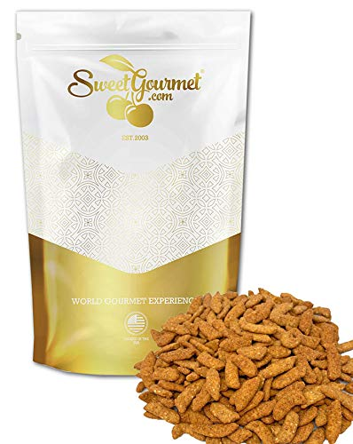 SweetGourmet Hot and Spicy Sesame Sticks   Healthy Snack   3 Pounds