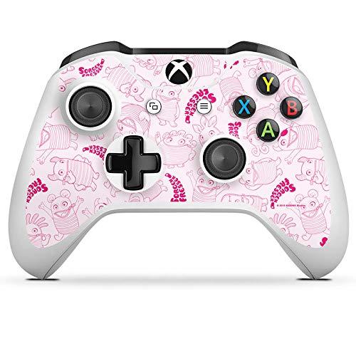 DeinDesign Skin kompatibel mit Microsoft Xbox One S Aufkleber Folie Sticker Sorgenfresser Spielzeug Fanartikel Merchandise