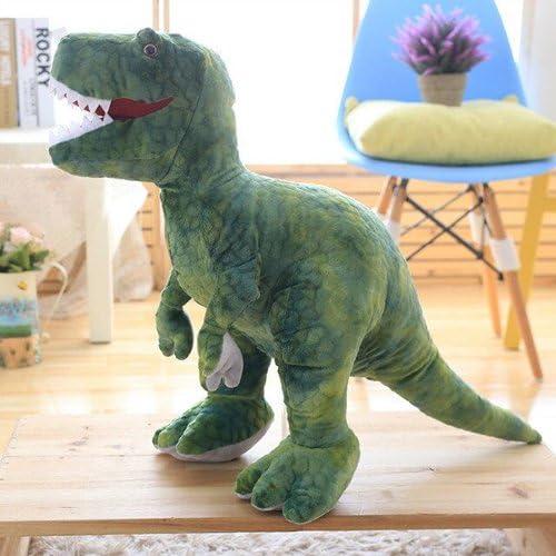 Baozengry Cadeau Anniversaire Dinosaure Tyrannosaurus Simulation,Oreillers,Vert - 65 Cm
