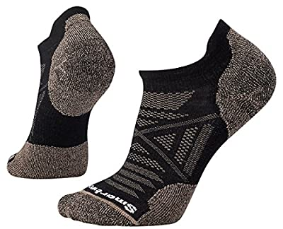 Smartwool PhD Outdoor Light Micro Sock - Lightly Cushioned Merino Wool Performance Sock for Men and Women BLACK L Unisex