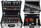FAMEX 420-89 Alu Werkzeugkoffer mit Top-Werkzeugbestückung