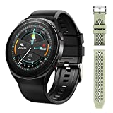 Smart Watch with 8GB RAM Can Store Almost 1500 Music,Toptenz Smart Music Watch with 1.28' Full Touch Screen Built in Advanced Health Monitoring, Fitness Tracking , and Long Lasting Battery