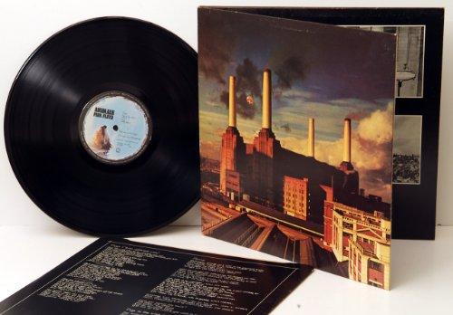 PINK FLOYD, Animals. WIDE SPINE. Top copy. Very rare. First UK pressing 1977. Matrix stamp. A2U, B3U. EMI.
