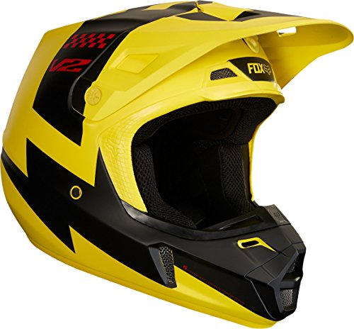Fox Helmet V de 2mastar, Black, tamaño S